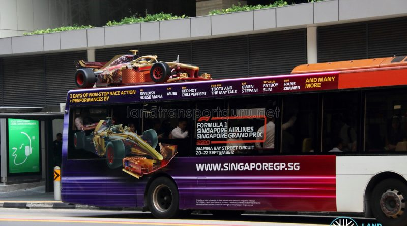 Formula 1 Singapore Airlines Singapore Grand Prix 2019 3D Advertisement