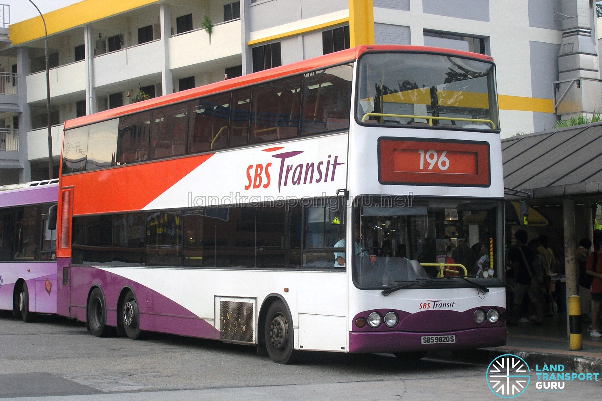 SBS Transit Volvo B10TL – Bus Photo Gallery