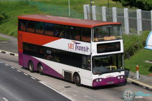 Bus 81 - SBS Transit Volvo B10TL (SBS9837U)