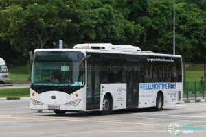 Downtown East Lunchtime Shuttle - BYD K9 (PC6264K)