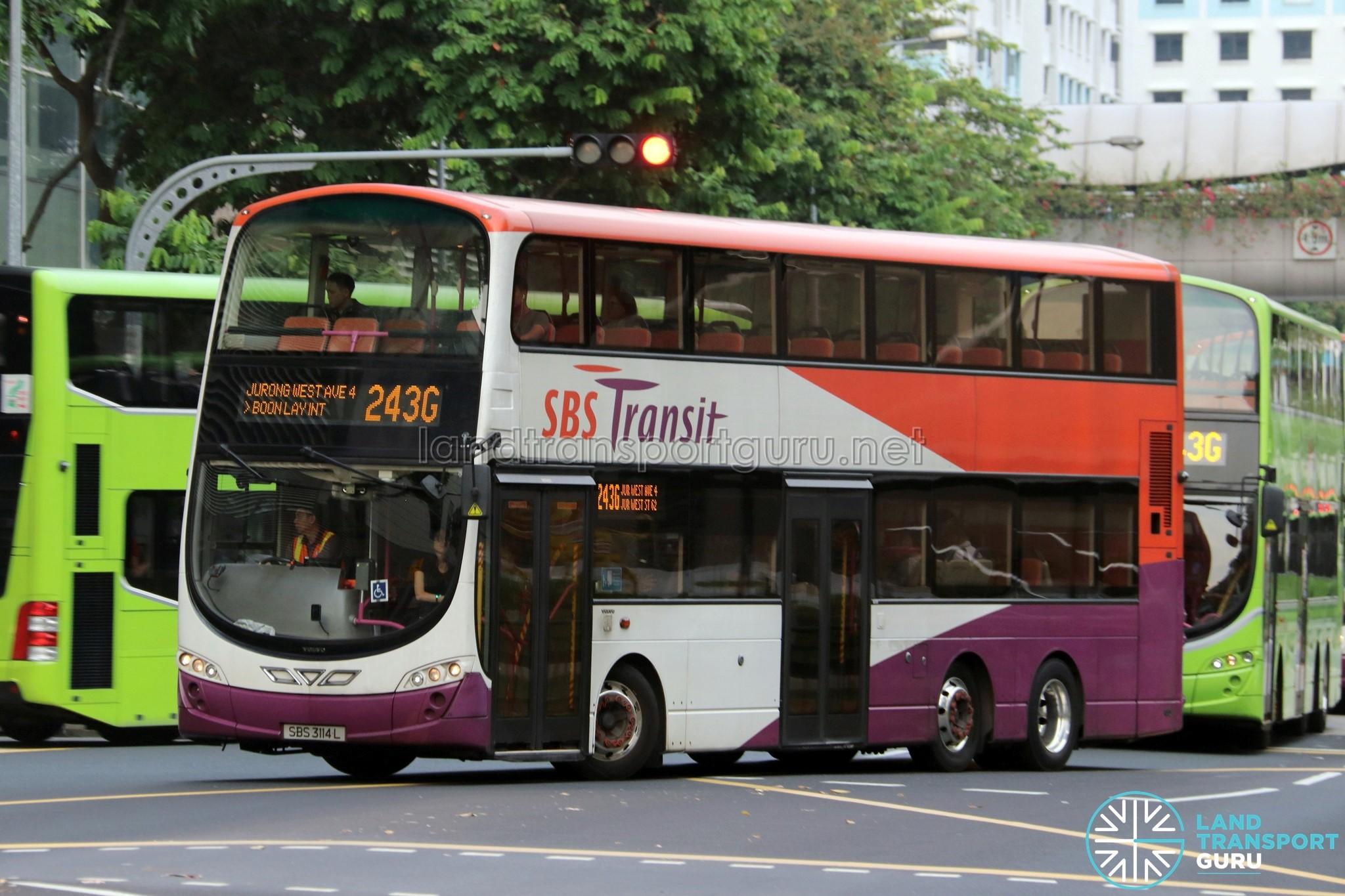 SBS Transit Feeder Bus Service 243G | Land Transport Guru