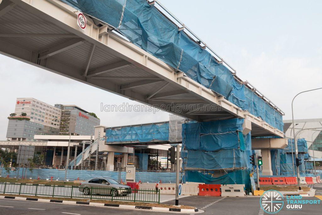 Jurong East 2nd Temporary Bus Interchange - Overhead Bridge Link to MRT