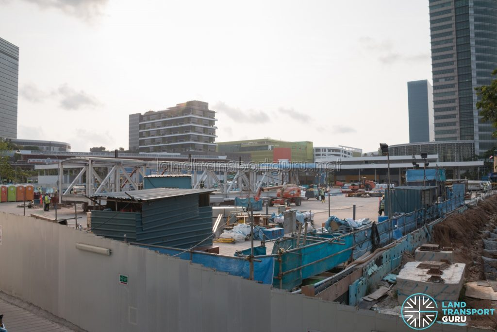 Jurong East 2nd Temporary Bus Interchange - Overview