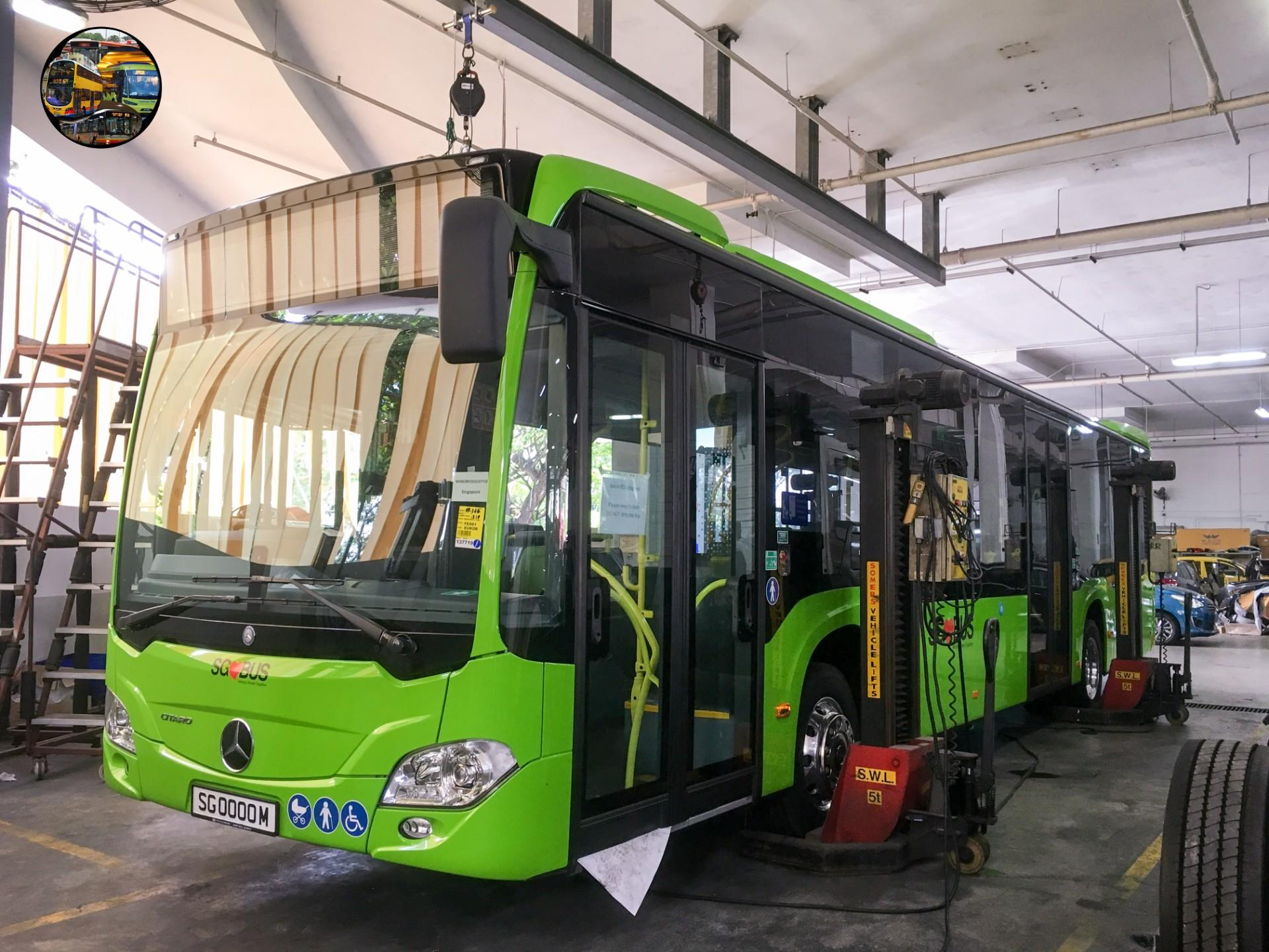 Citaro C2 Hybrid (Photo: MANBSP Facebook)