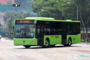SMRT Buses Mercedes-Benz Citaro (SG1142E) | TF50