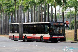 Service 901M - SMRT Buses Mercedes-Benz O06G (TIB1243S)