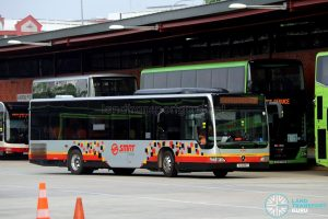 All LED Lit - SMRT Buses Mercedes-Benz Citaro (SG1698T)