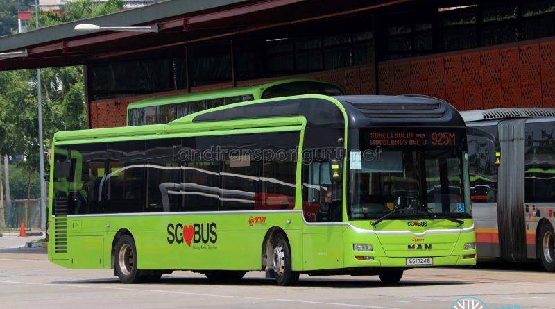 Service 925M - SMRT MAN NL323F Euro 5 (SG1724B)