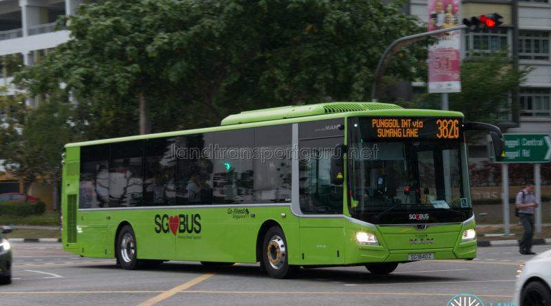 Bus 382G: Go-Ahead MAN Lion's City A22 (SG1840Z)