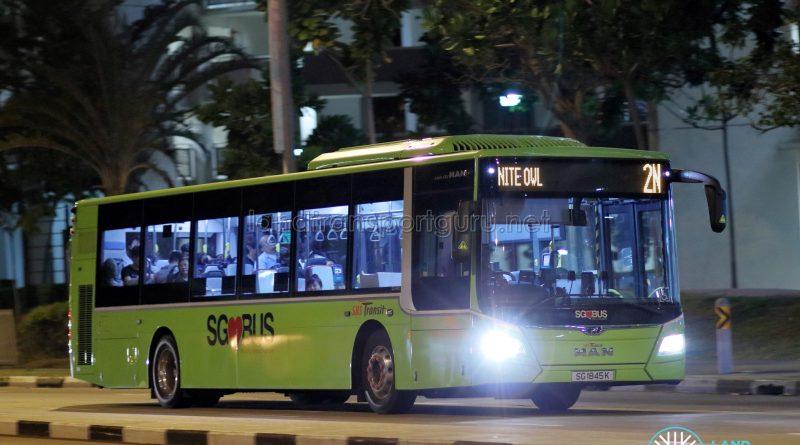 Nite Owl 2N - SBS Transit MAN A22 Euro 6 (SG1845K)