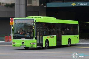 Bus 853M - SMRT Buses Mercedes-Benz OC500LE (SMB52K)