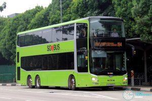 Service 194 - SBS Transit MAN A95 Euro V (SG5881D)