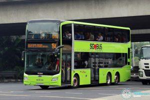 Service 194 - SBS Transit MAN A95 Euro VI (SG6047P)