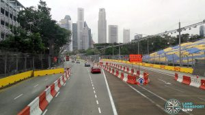 F1 2019 Road Reopening - Outside One Raffles Link