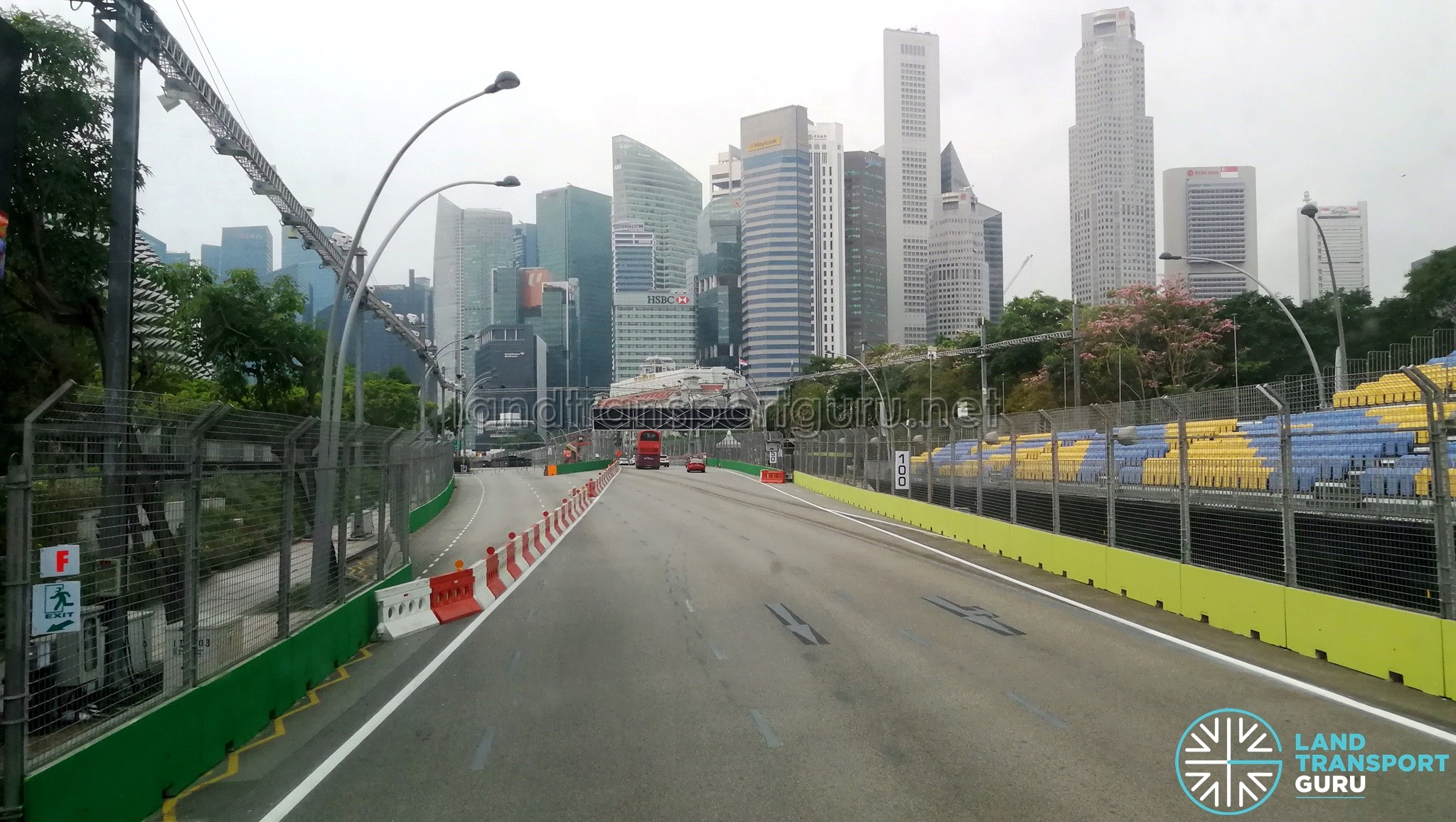 F1 2019 Road Reopening - Outside Suntec City