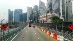 F1 2019 Road Reopening - Along Esplanade Bridge