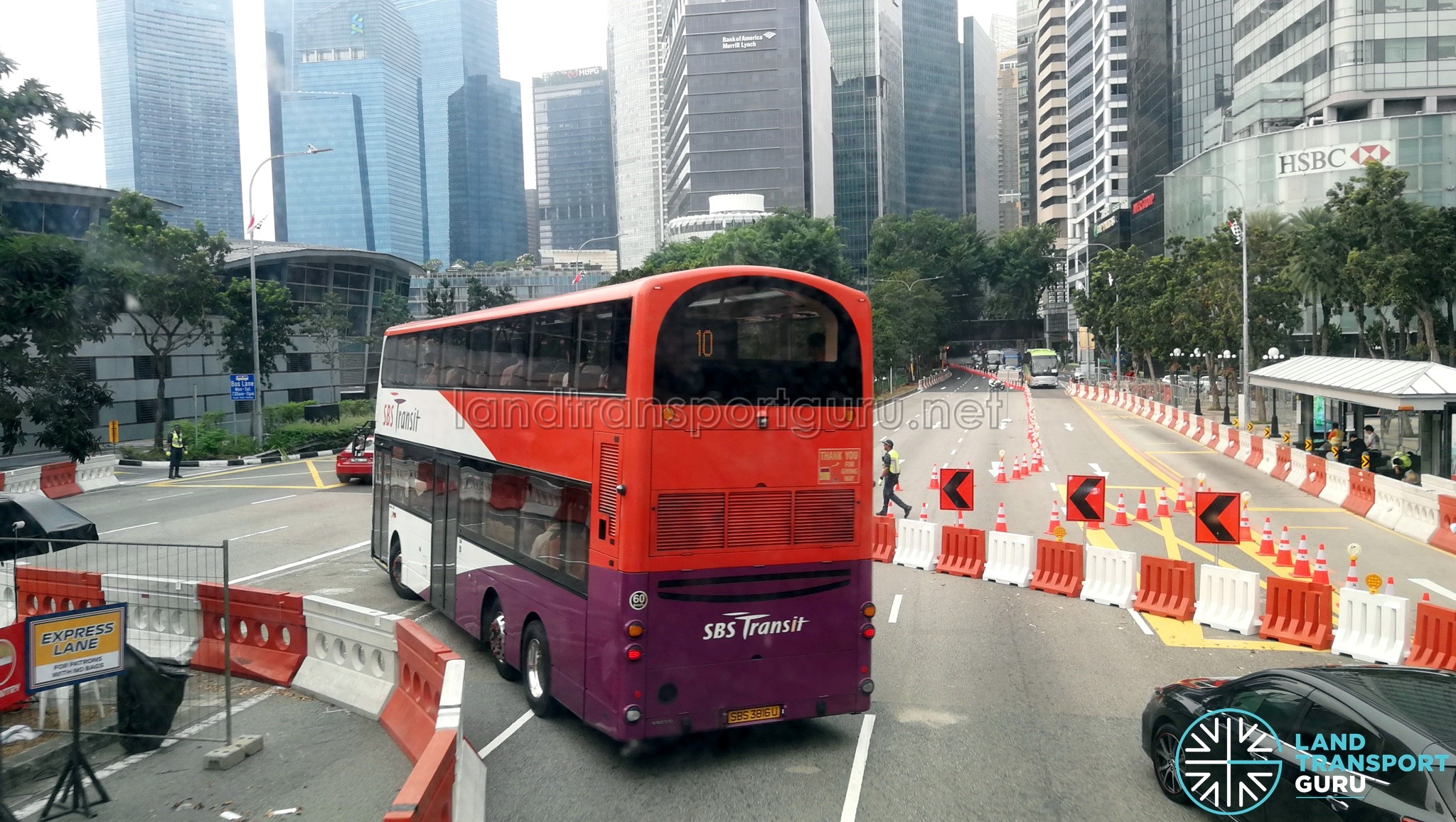 F1 2019 Road Reopening - Outside Fullerton Hotel