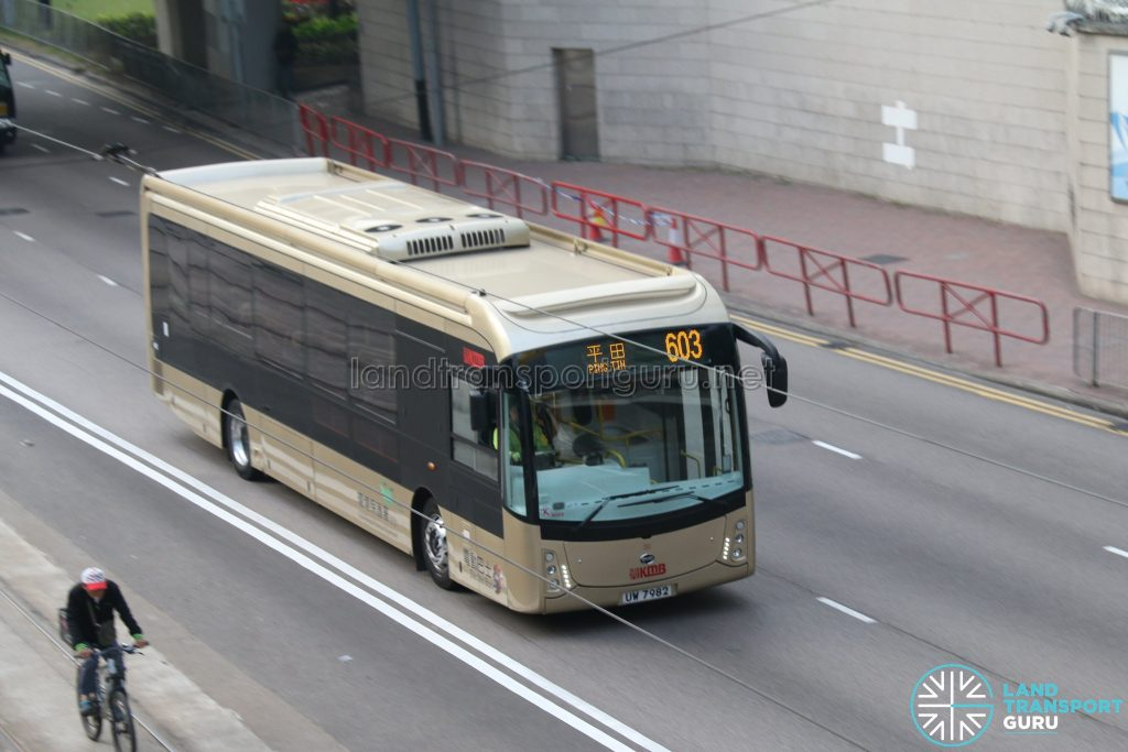 BYD K9R operated by Kowloon Motor Bus in Hong Kong