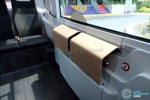 NUSmart Shuttle (Easymile EZ-10) - Perch seating