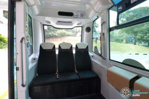 NUSmart Shuttle (Easymile EZ-10) - Left seating