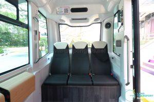 NUSmart Shuttle (Easymile EZ-10) - Right seating