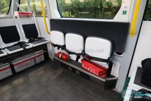 Navya Autonom - Interior (Foldable seats)