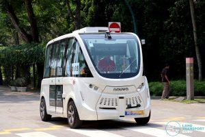 Navya Autonom - Sentosa Trial (Manual Driving mode)