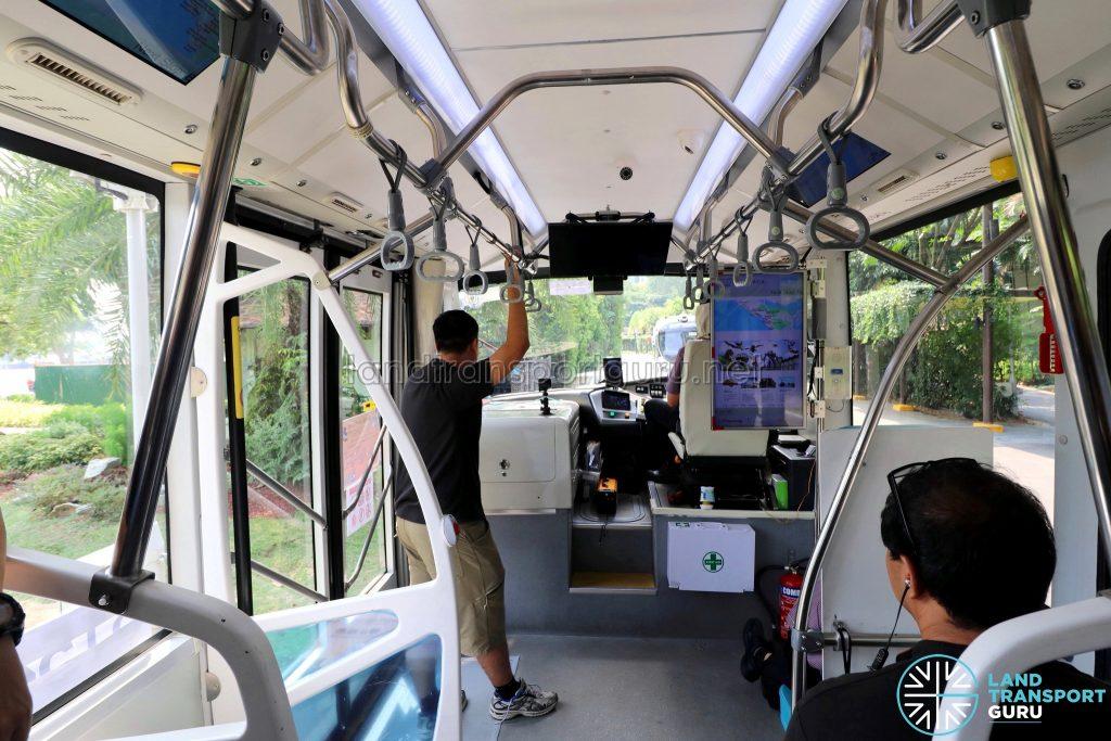 ST Autobus - Sentosa Trial (Interior)