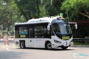 ST Autobus - Sentosa Trial (at Palawan Beach)