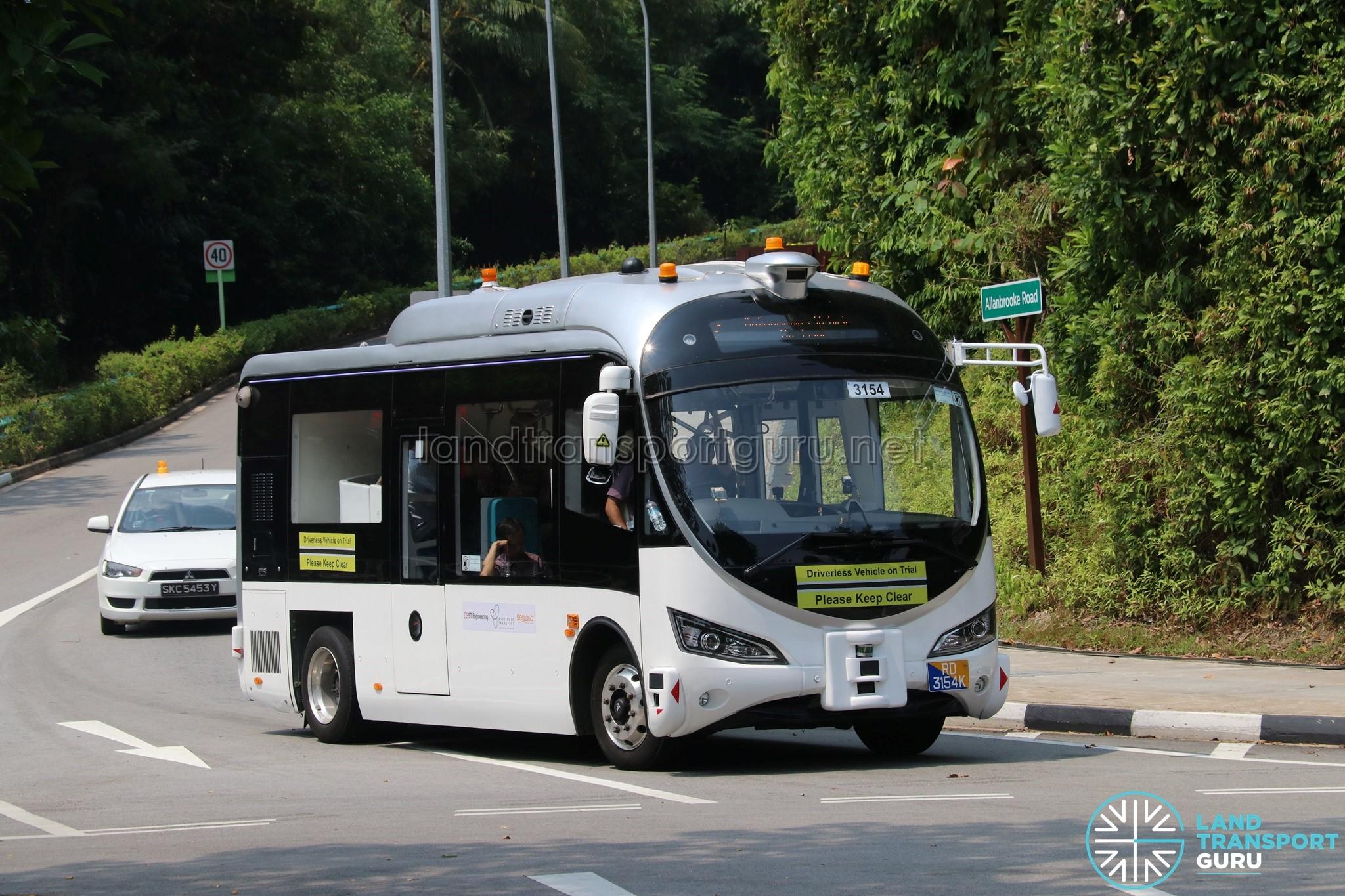 ST Autobus - Sentosa Trial (near Palawan Beach)