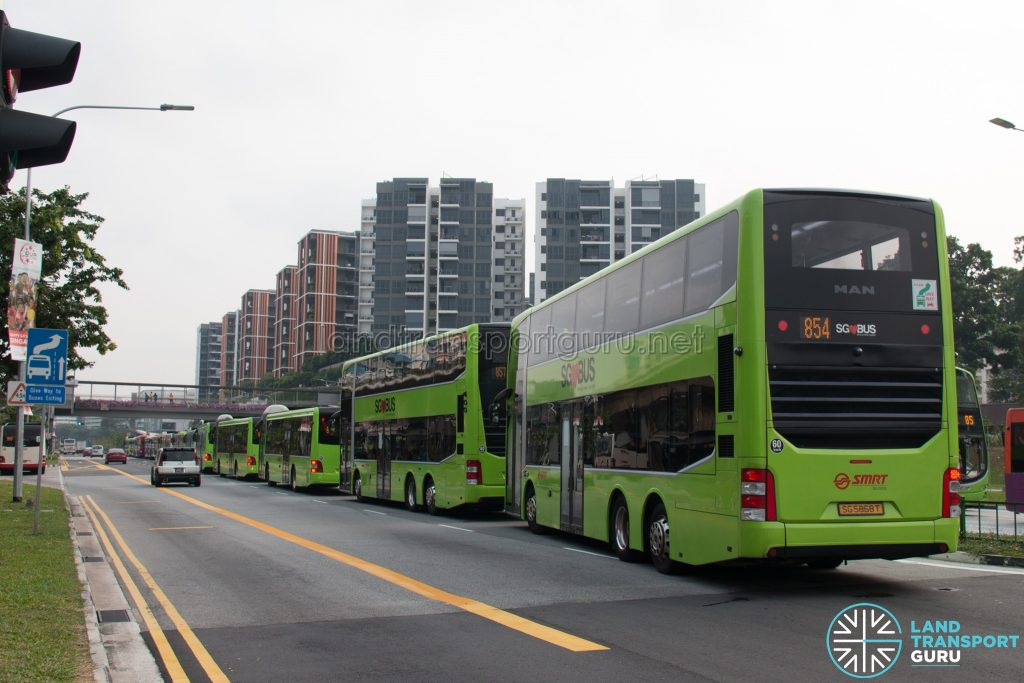 Congestion outside Yishun Integrated Transport Hub (2)