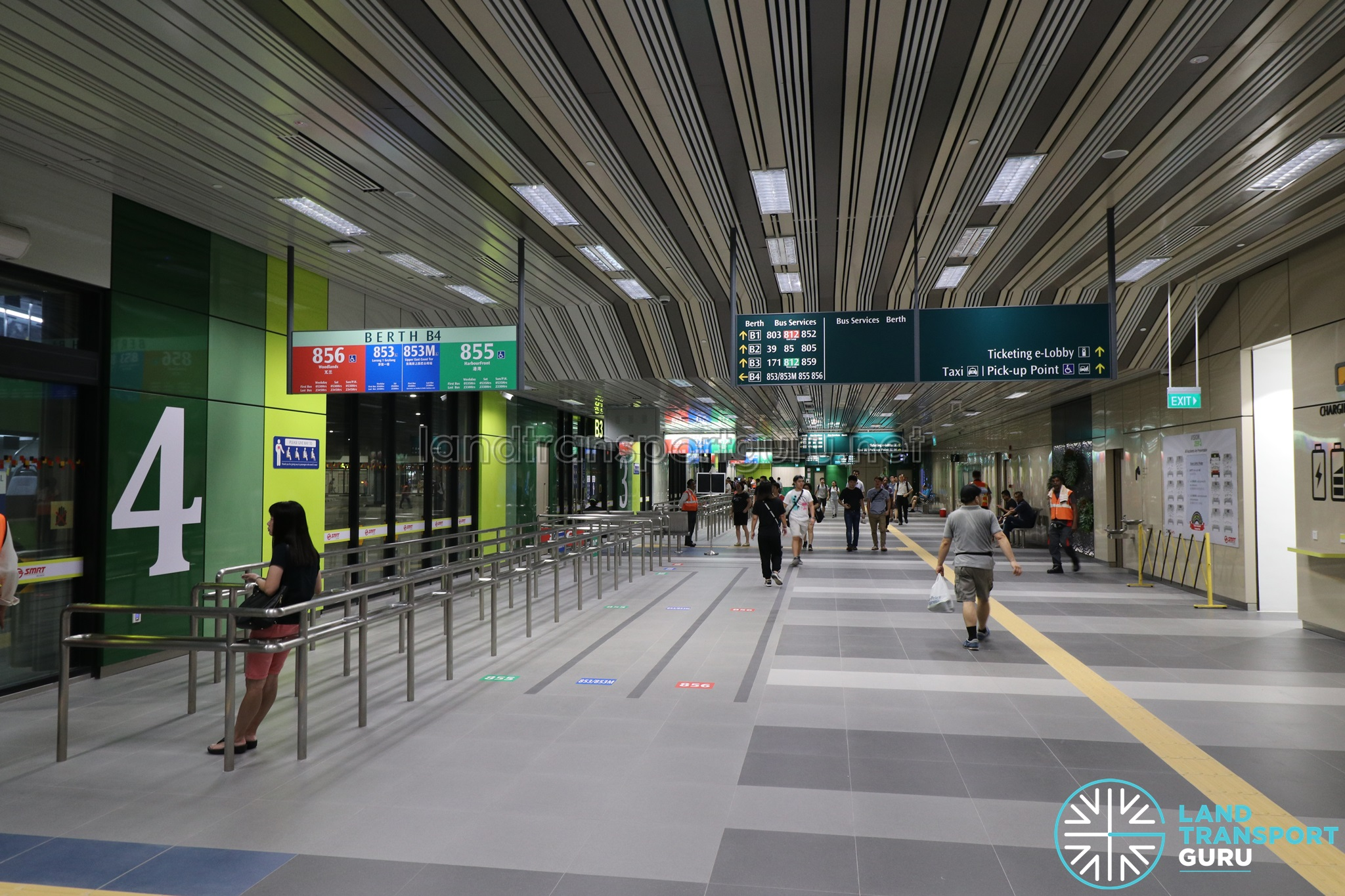 Yishun Integrated Transport Hub - Berth B4