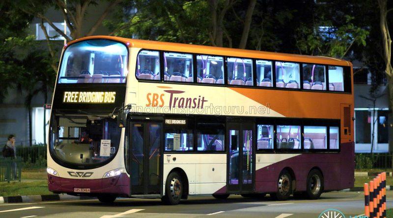 SKLRT Bridging Bus - SBS Transit Volvo B9TL Wright (SBS3046A)