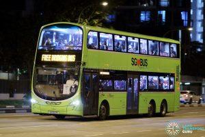 PGLRT Bridging Bus - SBS Transit Volvo B9TL Wright (SG5524K)