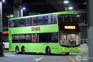 SKLRT Bridging Bus - SBS Transit Volvo B9TL CDGE (SBS7453G)