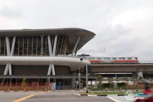 Canberra MRT Station - Side View (October 2019)