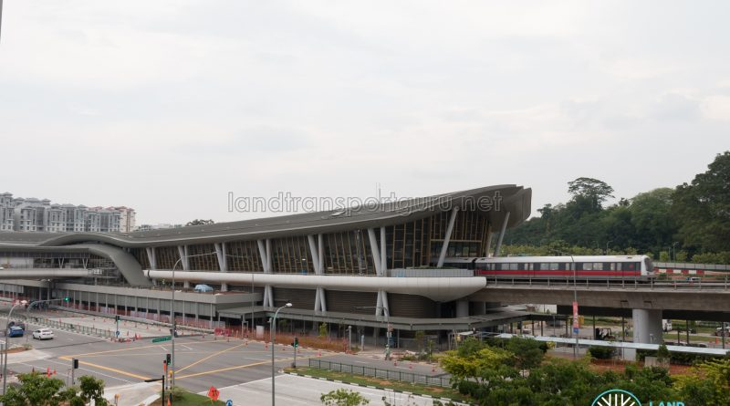 Canberra MRT Station (October 2019)