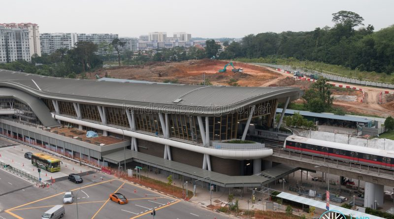 Canberra MRT Station - Overhead View (October 2019)