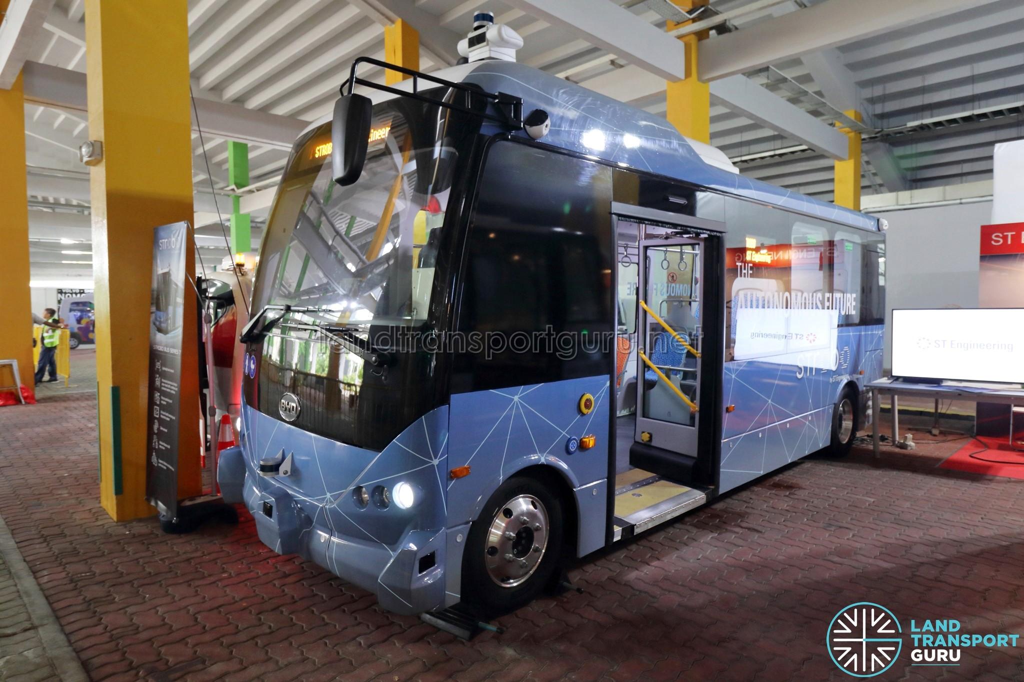 ST Engineering STROBO Series 7 Bus – Autonomous Electric Bus