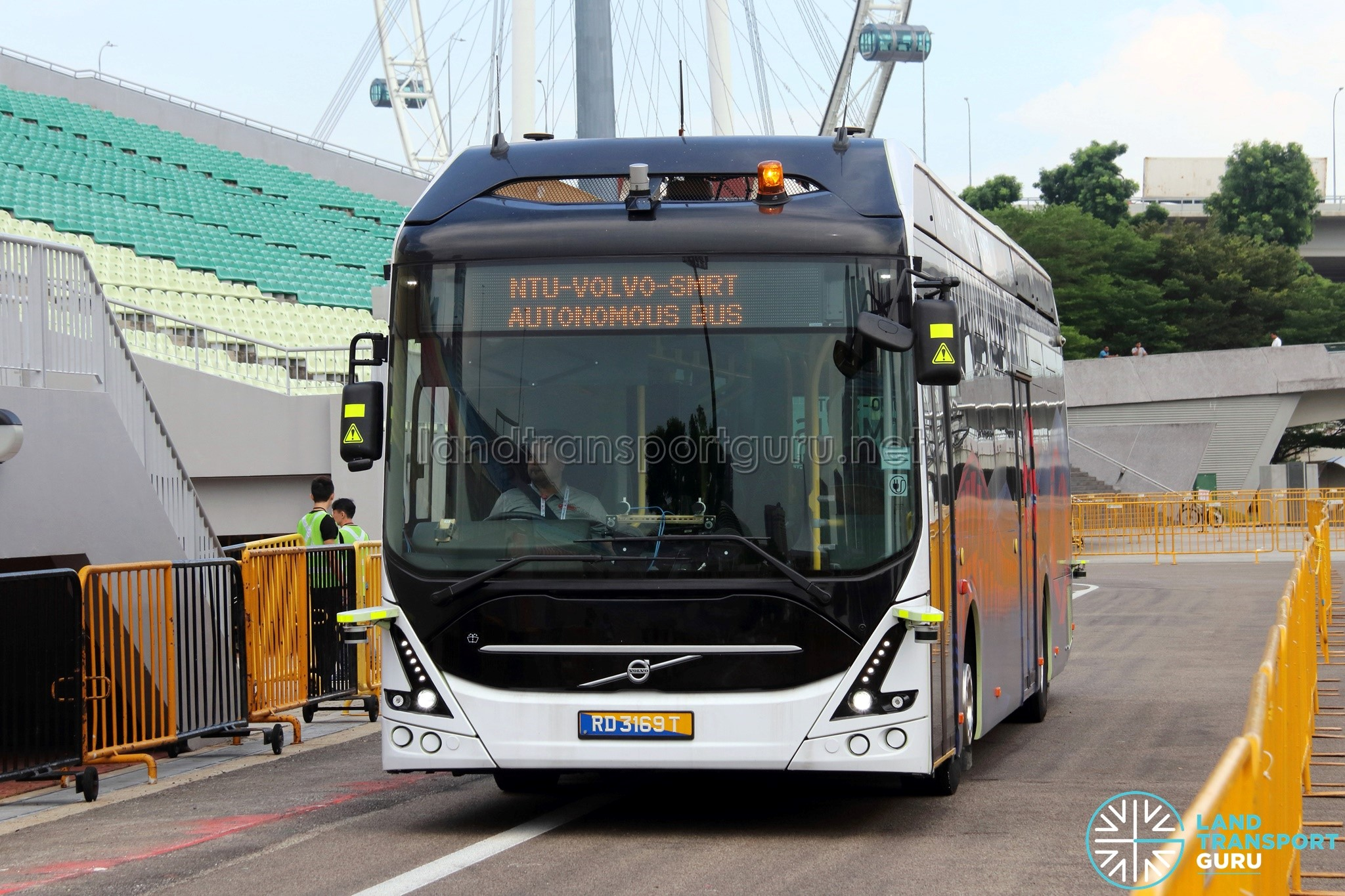Volvo 7900 Electric in Singapore. width=