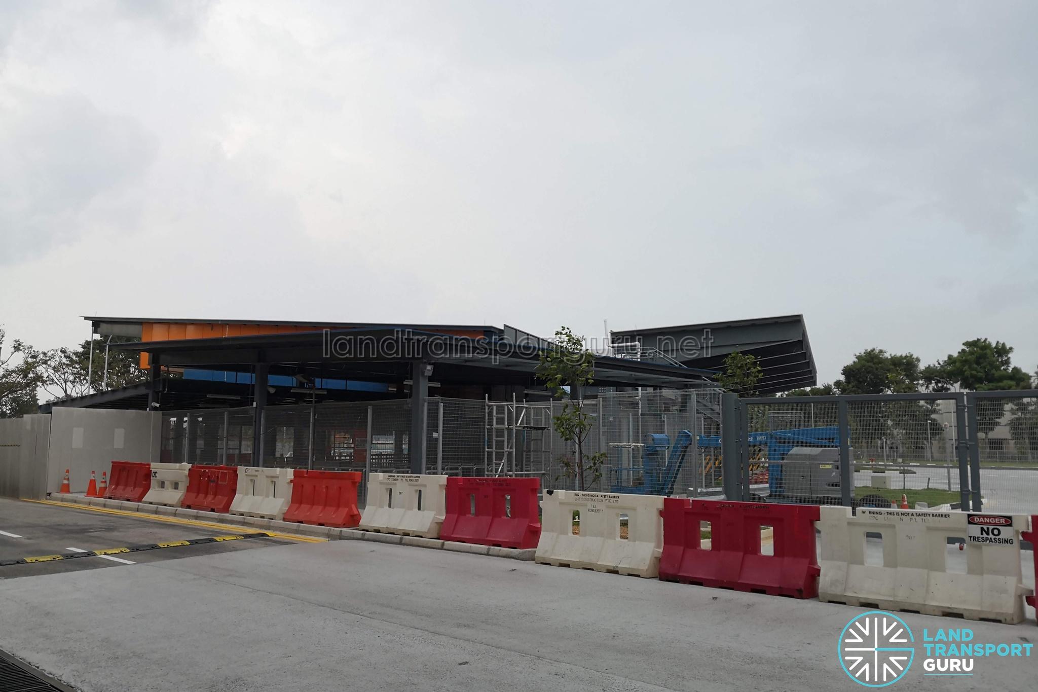 Yio Chu Kang Bus Interchange expanded concourse