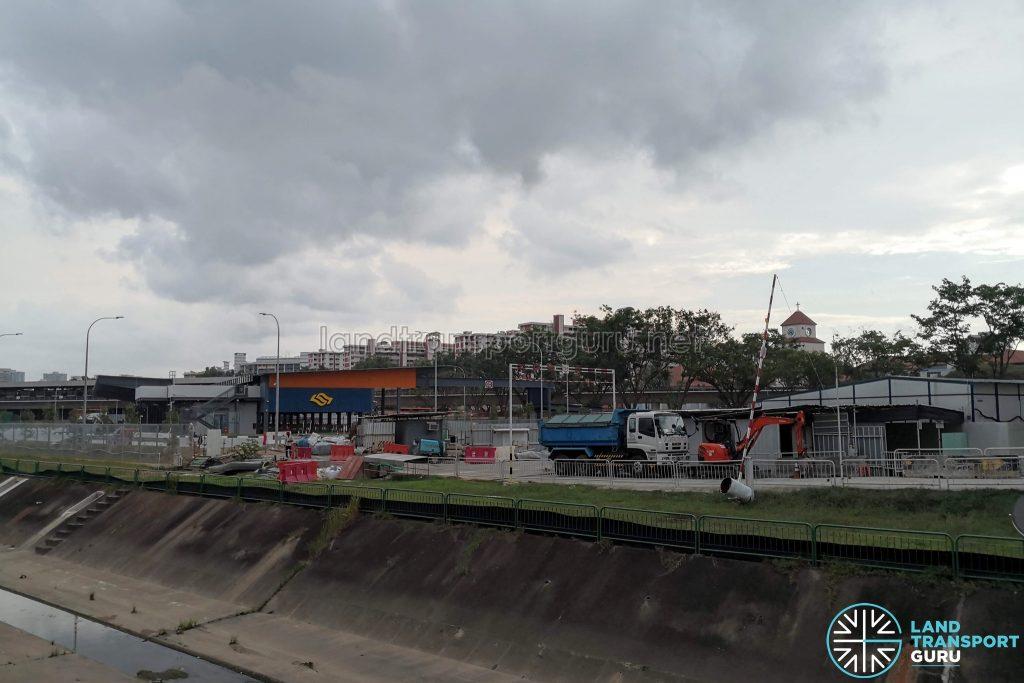 Exterior view of Yio Chu Kang Bus Interchange expansion
