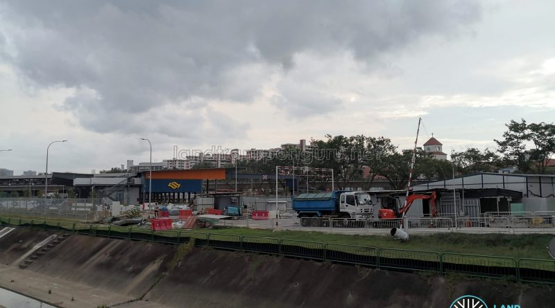 Exterior view of Yio Chu Kang Bus Interchange expansion