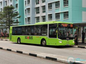 Service 976 - SMRT MAN A22 Euro 6 (SG1808T)