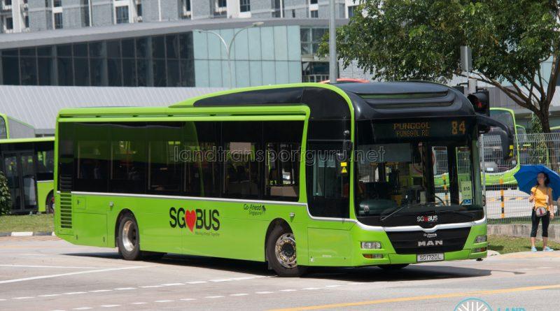Bus 84: Go-Ahead MAN Lion's City A22 (SG1720L)