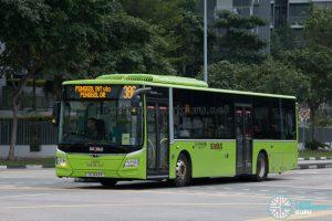 Bus 386: Go-Ahead MAN Lion's City A22 (SG1843R)