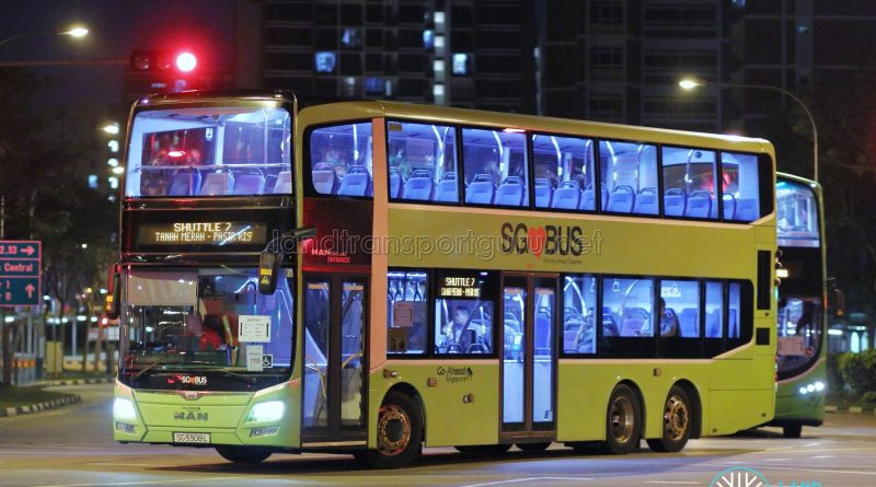 Shuttle 7 - Go-Ahead Singapore MAN A95 (SG5908L)