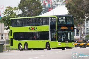 Bus 83: Go-Ahead MAN Lion's City DD A95 (SG6095A)