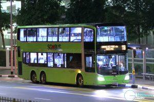 Bus 118: Go-Ahead MAN A95 / Lion's City DD (SG6105E)