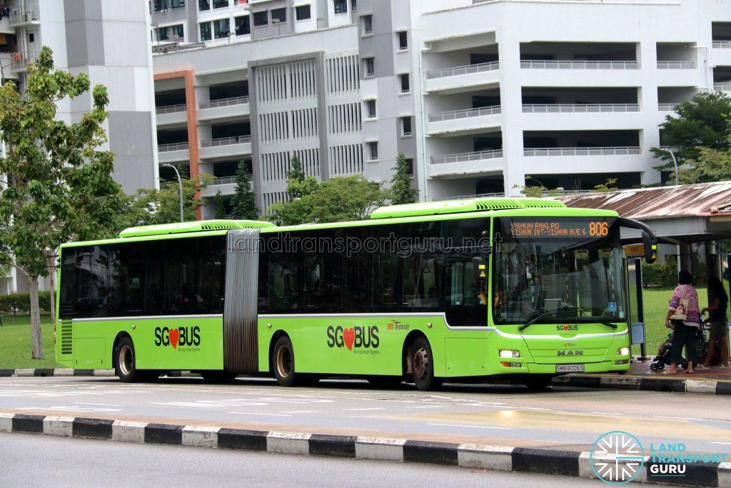 Bus 806 - SBS Transit MAN A24 / Lion's City G (SMB8006S)
